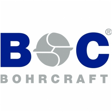 Grąžtas betonui SDS-plus BOHRCRAFT (8,0 x 210/150 mm) 2