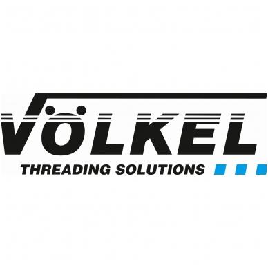 IŠPARDAVIMAS! Sriegio intarpų rinkinys Volkel V-coil S M6x1.0-1.0 D (100  vnt.) 4