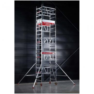 Aliuminio mobilus bokštelis MiTower (5 m darbinio aukščio) 3