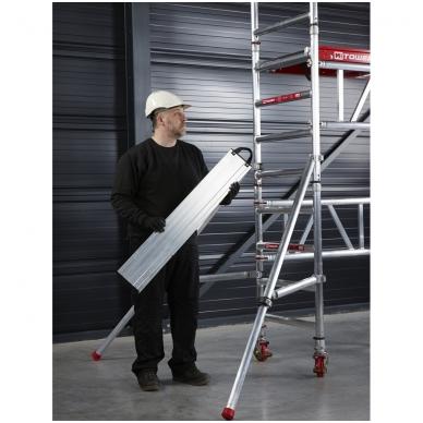 Aliuminio mobilus bokštelis MiTower (5 m darbinio aukščio) 13