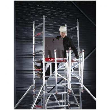 Aliuminio mobilus bokštelis MiTower (5 m darbinio aukščio) 11