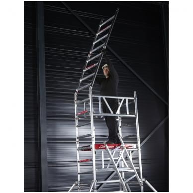 Aliuminio mobilus bokštelis MiTower (5 m darbinio aukščio) 12