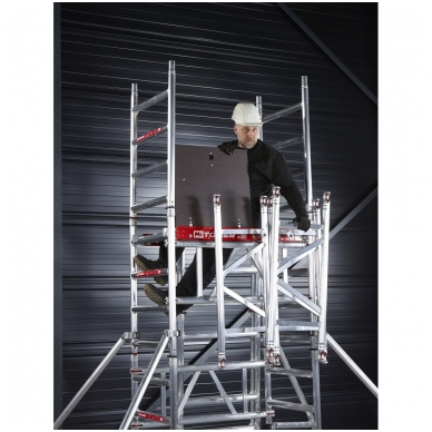 Aliuminio mobilus bokštelis MiTower (6 m darbinio aukščio) 13