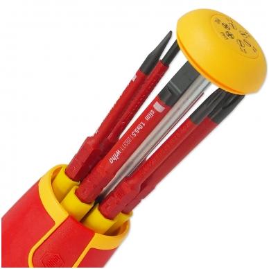 Atsuktuvas elektrikui su antgaliais rankenoje WIHA LiftUp slimBits (6 vnt.) 3