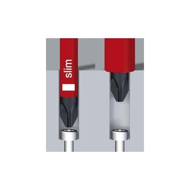 Atsuktuvų rinkinys elektrikui WIHA SoftFinish slimFix Phillips (6 vnt.) 3