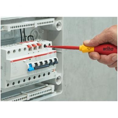 Atsuktuvų rinkinys elektrikui WIHA SoftFinish slimFix Phillips (6 vnt.) 6