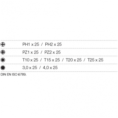 Atsuktuvų rinkinys WIHA TorqueVario-S (13 vnt.) 2