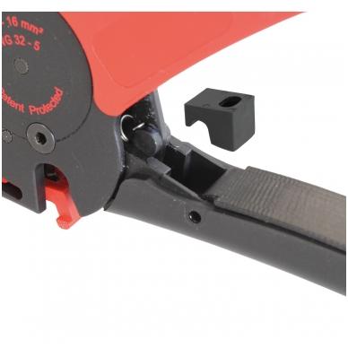Nužievinimo replės, automatinės WIHA (200 mm) 3