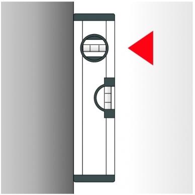 Gulsčiukas BMI Eurostar su magnetais (40 cm) 8