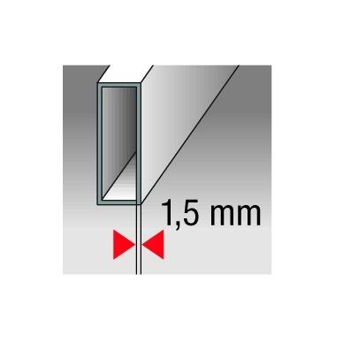 Gulsčiukas BMI Eurostar su magnetais (40 cm) 5