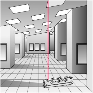 Трехлучевой лазерный уровень BMI Torpedo 3 3