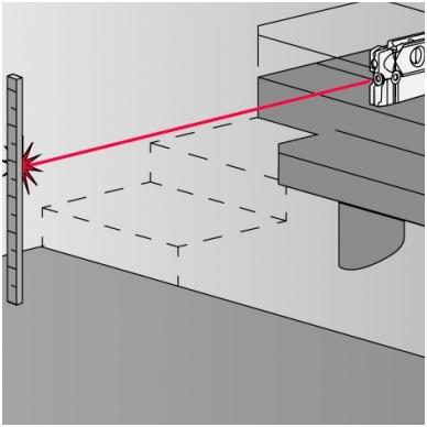 Трехлучевой лазерный уровень BMI Torpedo 3 4