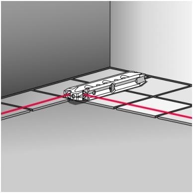 Трехлучевой лазерный уровень BMI Torpedo 3 5