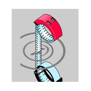 Ruletė BMImeter (2 m) 4