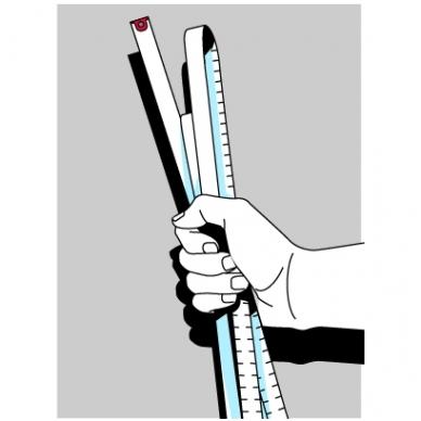 Ruletė BMImeter (2 m) 5