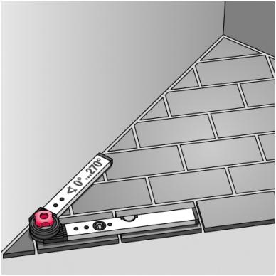 Universalus kampainis BMI WINKELSTAR (60 x 80 cm) 5