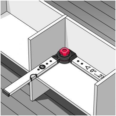 Universalus kampainis BMI WINKELSTAR (100 x 150 cm) 5
