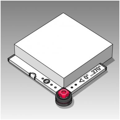 Universalus kampainis BMI WINKELSTAR (100 x 150 cm) 3