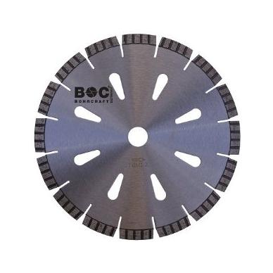 IŠPARDAVIMAS! Deimantinis diskas BOHRCRAFT TURBO PROFI-PLUS (230 mm)