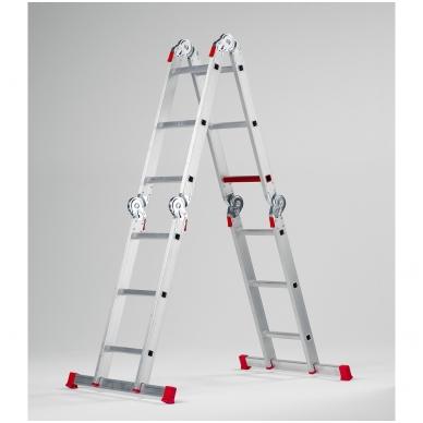 Daugiafunkcinės kopėčios Varitrex plus 4