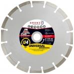 Deimantinis pjovimo diskas DRONCO Superior U4 (125 x 2,2 x 22,23 mm)