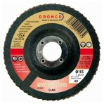 Keramikinis lapelinis šlifavimo diskas DRONCO EVOLUTION G-AK Bomb (40; 125x22,23 mm)