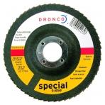 Lapelinis šlifavimo diskas DRONCO G-AZ A 80 (125X22,23)