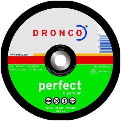 Pjovimo diskas DRONCO PERFECT C 24 R (125x3x22,23)