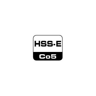 Spiralinis grąžtas DIN 338 HSS-E Co 5% BOHRCRAFT (13,0 mm) 6