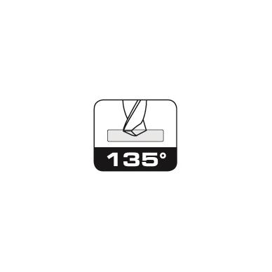 Grąžtas BOHRCRAFT DIN 338 HSS-E Co 5% (4,0 mm) 3