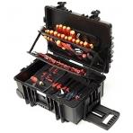 Įrankių lagaminas elektrikams WIHA Comptetence XXL (115 vnt.)