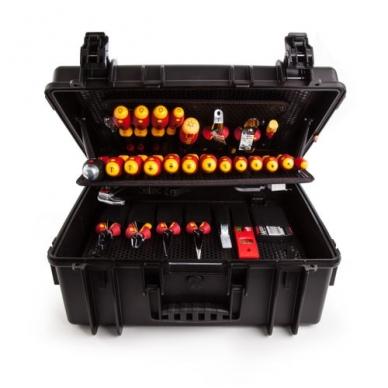Įrankių lagaminas elektrikams WIHA Competence XL (80 vnt.) 2