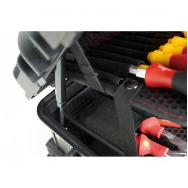 Įrankių lagaminas elektrikams WIHA Competence XL (80 vnt.) 6