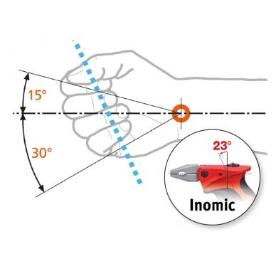 Kombinuotos replės WIHA Inomic electric (180 mm) 4