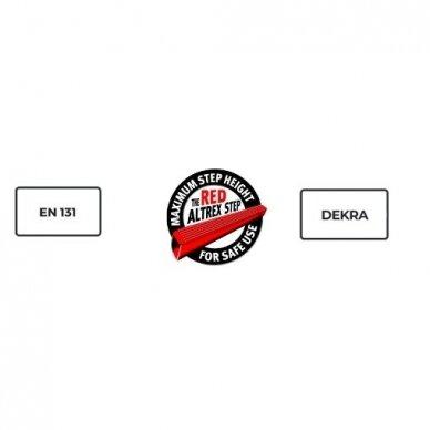 Kopėčios Double Decker (7 pakopos) 12