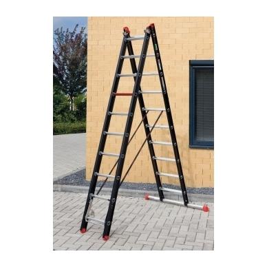 Trijų dalių kopėčios Mounter professional (3 x 12) 4
