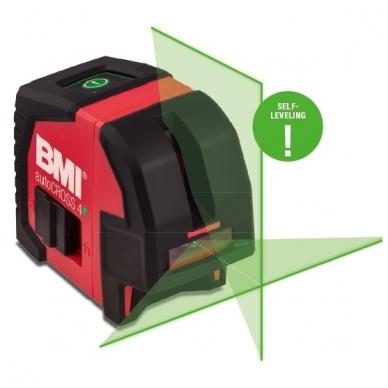 Крестовой лазерный нивелир BMI autoCROSS 4G