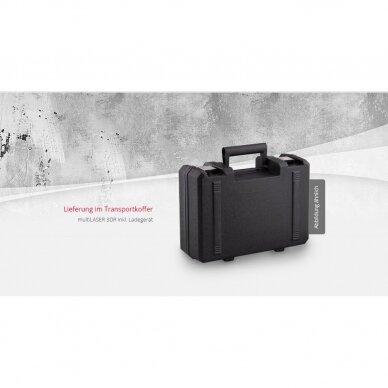 Крестовой лазерный нивелир BMI autoCROSS 4G (набор с приемником) 4