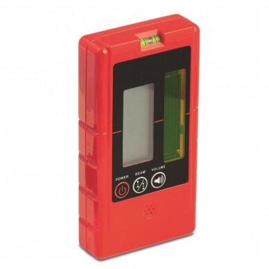 Крестовой лазерный нивелир BMI autoCROSS 4G (набор с приемником) 2