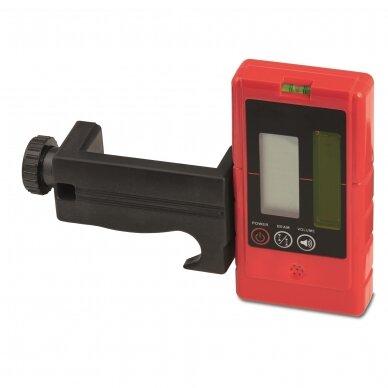 Крестовой лазерный нивелир BMI autoCROSS 4G (набор с приемником) 3