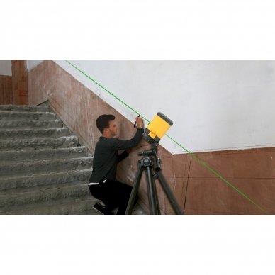 Kryžminių linijų lazeris Prexiso PLC10P (10 m) 3