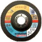 Lapelinis šlifavimo diskas DRONCO G-AZ Maxx 40 (125x22,23)