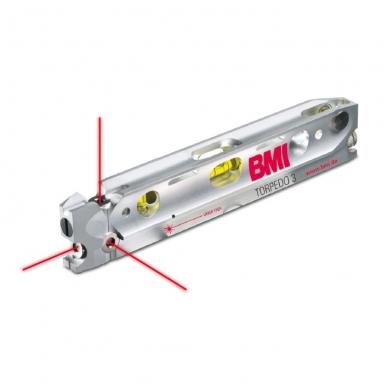 Трехлучевой лазерный уровень BMI Torpedo 3
