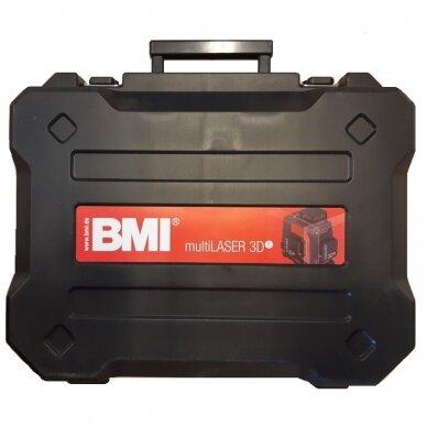 Лазерный нивелир BMI multiLASER 3D R (набор с приемником) 8
