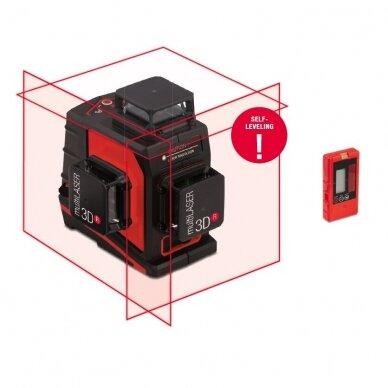 Лазерный нивелир BMI multiLASER 3D R (набор с приемником)
