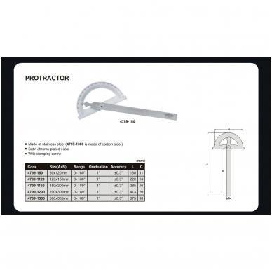 Matlankis Insize (120x150 mm) 2