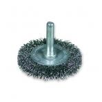Diskinis šepetys gofruota viela su koteliu OSBORN (Ø 75 mm)