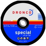Metalo pjovimo diskas DRONCO SPECIAL AS 30 T (125 x 2 x 22,23)