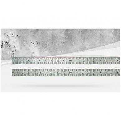 Metalinė liniuotė BMI (1000 mm)