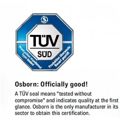 Diskinis šepetys sukta viela OSBORN (Ø 125 mm) 4